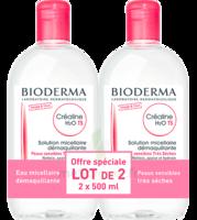Crealine Ts H2o Solution Micellaire Sans Parfum Nettoyante Apaisante 2fl/500ml à BRUGES
