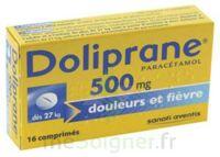 Doliprane 500 Mg Comprimés 2plq/8 (16) à BRUGES