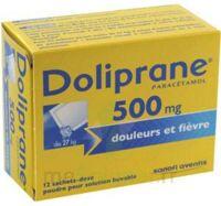 Doliprane 500 Mg Poudre Pour Solution Buvable En Sachet-dose B/12 à BRUGES