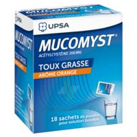 Mucomyst 200 Mg Poudre Pour Solution Buvable En Sachet B/18 à BRUGES