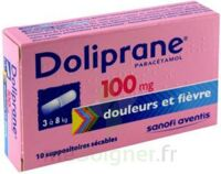 Doliprane 100 Mg Suppositoires Sécables 2plq/5 (10) à BRUGES