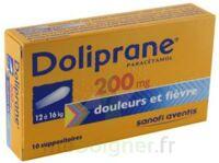 Doliprane 200 Mg Suppositoires 2plq/5 (10) à BRUGES