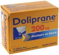 Doliprane 200 Mg Poudre Pour Solution Buvable En Sachet-dose B/12 à BRUGES