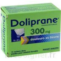 Doliprane 300 Mg Poudre Pour Solution Buvable En Sachet-dose B/12 à BRUGES