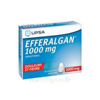 Efferalgan 1000 Mg Comprimés Pelliculés Plq/8 à BRUGES