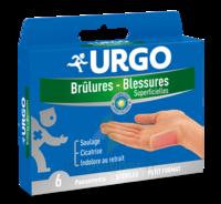 Urgo Brulures-blessures Petit Format X 6 à BRUGES