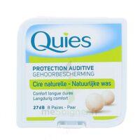 Quies Protection Auditive Cire Naturelle 8 Paires à BRUGES