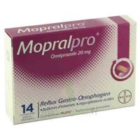 Mopralpro 20 Mg Cpr Gastro-rés Film/14 à BRUGES