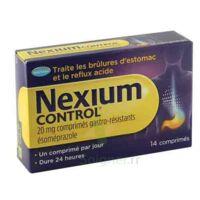 Nexium Control 20 Mg Comprimés Gastro-résistants Plq/14 à BRUGES