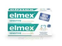ELMEX SENSITIVE DENTIFRICE, tube 75 ml, pack 2 à BRUGES