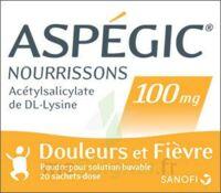 Aspegic Nourrissons 100 Mg, Poudre Pour Solution Buvable En Sachet-dose à BRUGES