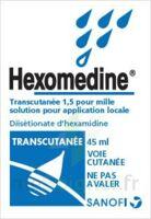 Hexomedine Transcutanee 1,5 Pour Mille, Solution Pour Application Locale à BRUGES