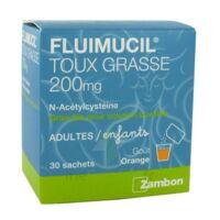 Fluimucil Expectorant Acetylcysteine 200 Mg Sans Sucre, Granulés Pour Solution Buvable En Sachet édulcorés à L'aspartam Et Au Sorbitol à BRUGES
