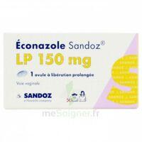 Econazole Sandoz L.p. 150 Mg, Ovule à Libération Prolongée à BRUGES