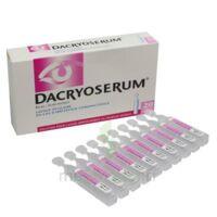 Dacryoserum Solution Pour Lavage Ophtalmique En Récipient Unidose 20unidoses/5ml à BRUGES