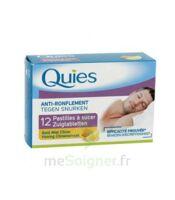 QUIES Past à sucer anti-ronflement miel citron B/12 à BRUGES