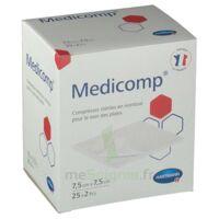 Medicomp® Compresses En Nontissé 7,5 X 7,5 Cm - Pochette De 2 - Boîte De 25 à BRUGES