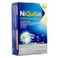 Niquitin 2 Mg Gom à Mâcher Médic Menthe Glaciale Sans Sucre Plq Pvc/pvdc/alu/30 à BRUGES