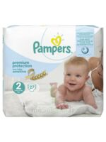 Pampers couches new baby sensitive taille 2 - 27 couches à BRUGES