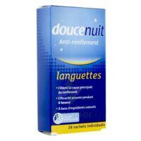 DOUCENUIT ANTIRONFLEMENT LANGUETTES, sachet 28 à BRUGES