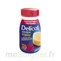 DELICAL BOISSON HP HC CONCENTREE Nutriment vanille 4Bouteilles/200ml à BRUGES