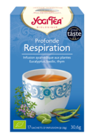 Yogi Tea Tisane Ayurvédique Profonde Respiration Bio 17 Sachets/1,8g à BRUGES