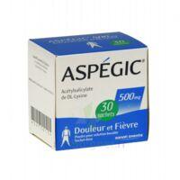 Aspegic 500 Mg, Poudre Pour Solution Buvable En Sachet-dose 30 à BRUGES