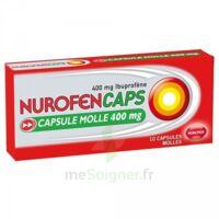 Nurofencaps 400 Mg Caps Molle Plq/10 à BRUGES