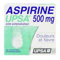Aspirine Upsa 500 Mg, Comprimé Effervescent à BRUGES