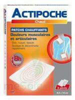 Actipoche Patch chauffant douleurs musculaires B/2 à BRUGES