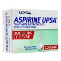 Aspirine Upsa Tamponnee Effervescente 1000 Mg, Comprimé Effervescent à BRUGES
