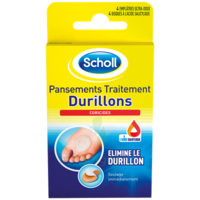 Scholl Pansements Coricides Durillons à BRUGES