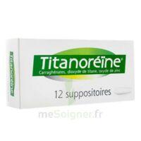 Titanoreine Suppositoires B/12 à BRUGES