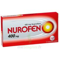 Nurofen 400 Mg Comprimés Enrobés Plq/12 à BRUGES