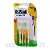 Gum Trav - Ler, 1,3 Mm, Manche Jaune , Blister 4 à BRUGES