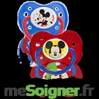 Dodie Disney Sucette anatomique silicone +6mois Mickey Lot/2 à BRUGES