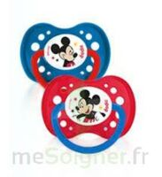 Dodie Disney sucettes silicone +18 mois Mickey Duo à BRUGES