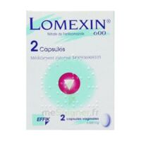 Lomexin 600 Mg Caps Molle Vaginale Plq/2 à BRUGES