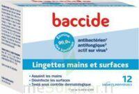 Baccide Lingette désinfectante mains & surface 12 Pochettes à BRUGES