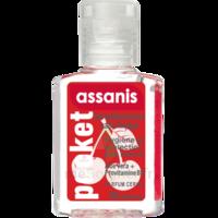 Assanis Pocket Parfumés Gel antibactérien mains cerise 20ml à BRUGES