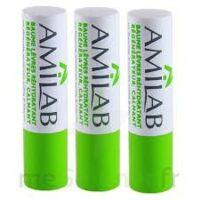Amilab Baume labial réhydratant et calmant lot de 3 à BRUGES