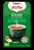Yogi Tea Thé Energie Du Thé Vert Bio 17 Sachets/1,8g à BRUGES