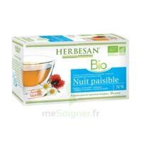 Herbesan Infusion Bio Tisane Relaxation Détente 20 Sachets à BRUGES