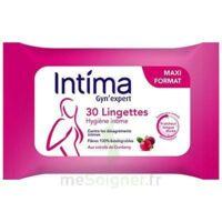 Intima Gyn'Expert Lingettes Cranberry Paquet/30 à BRUGES