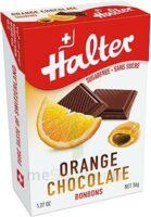 Halter Bonbon Sans Sucre Orange Fourré Chocolat B/36g à BRUGES
