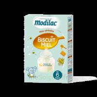 Modilac Céréales Farine Biscuit miel à partir de 6 mois B/300g à BRUGES