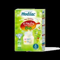 Modilac Céréales Farine 4 Fruits quinoa bio à partir de 6 mois B/230g à BRUGES