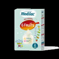 Modilac Céréales Farine 6 Fruits à partir de 8 mois B/300g à BRUGES