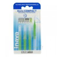 Inava Mono Compact Brossette Extra-large Vert Blister/4 à BRUGES