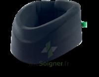Cervix 2 Collier Cervical Semi Rigide Noir/vert H9cm T3 à BRUGES